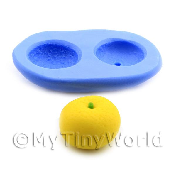 Dolls House Miniature  | Dolls House Miniature 2 Part Reusable Silicone Grapefruit Mould