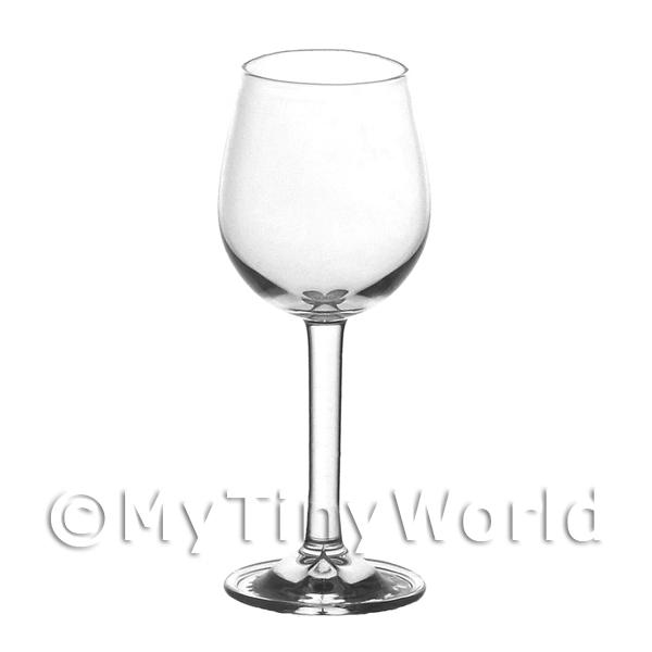 Dolls House Miniature Handmade Small Classic Water / Wine Glass