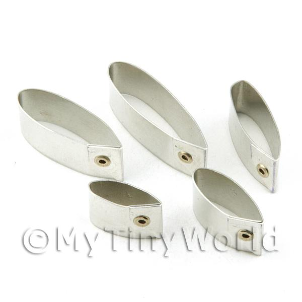 Set of 5 Assorted Size Metal Gerbera Petal Craft Cutters