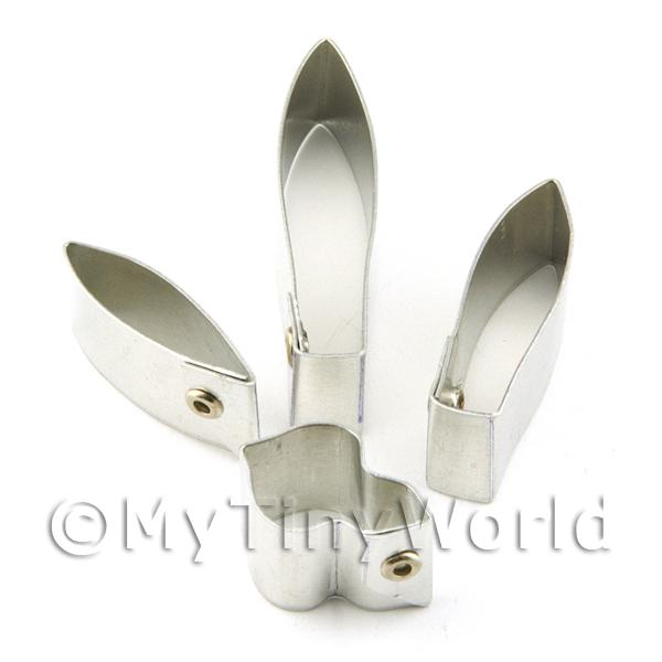 Set of 4 Metal Brassavola Nodosa Orchid Sugar Craft Cutters
