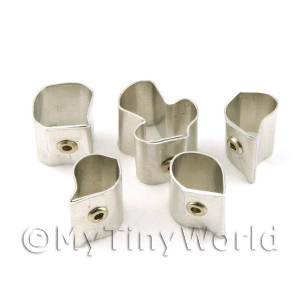 Set of 5 Metal Vanda Miss Joquim Orchid  Craft Cutters