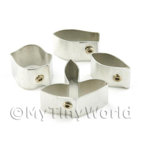 Set of 4 Metal Dendrobium Parish Orchid Craft Cutters