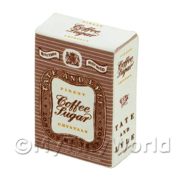 Dolls House Miniature Tate and Lyle Coffee Sugar