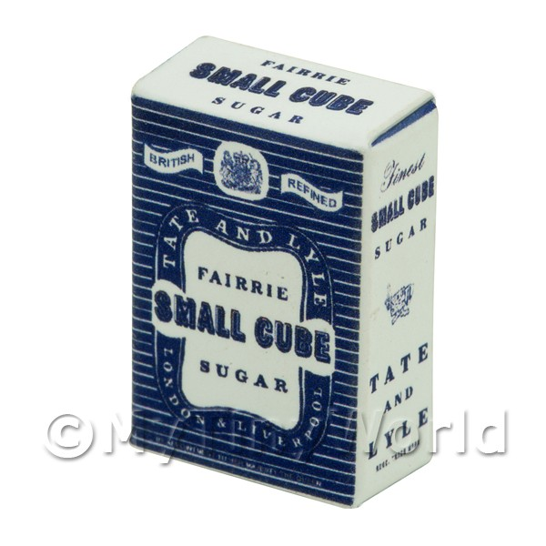 Dolls House Miniature Tate and Lyle Small Cube Sugar