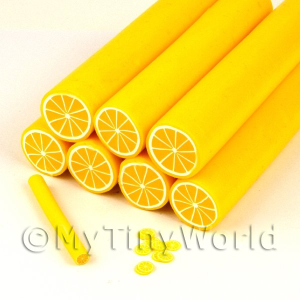Unbaked Lemon Cane Nail Art And Jewellery UNC57