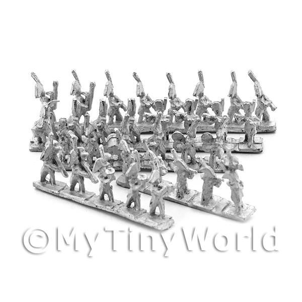Dolls House Unpainted 32 Piece Old Guard French Band
