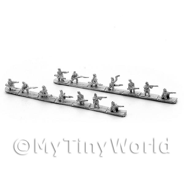 Dolls House Miniature  | 14 Dolls House Miniature Unpainted Metal Fighting Gurkahas