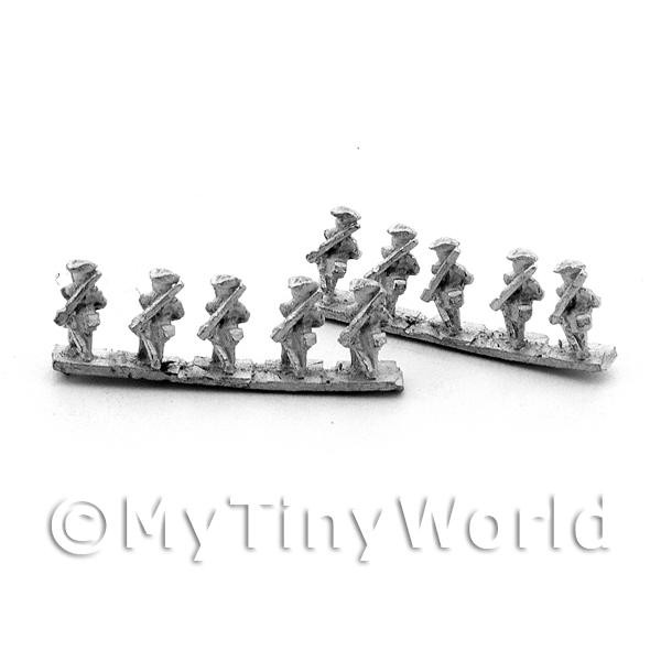 10 Dolls House Metal Marlburian French Grenadiers