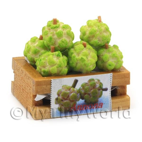 Dolls House Miniature  | Dolls House Miniature Crate of Custard Apples