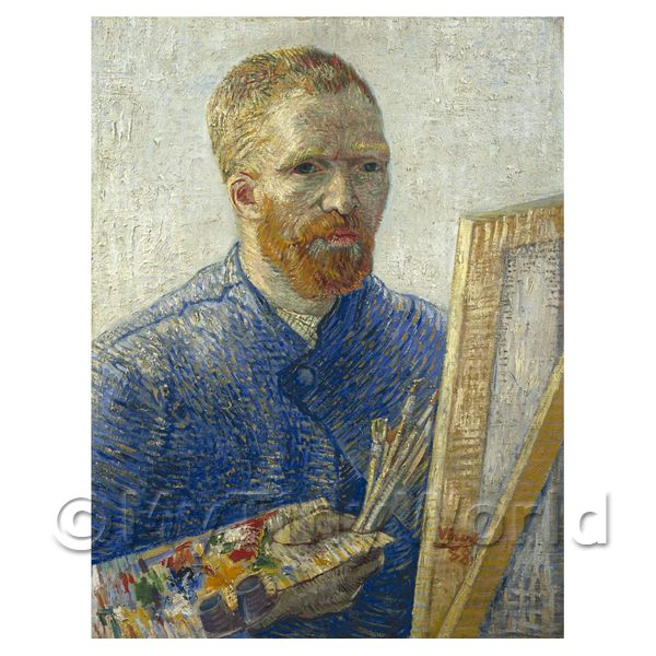 Van Gogh Painting Portrait as an Artist
