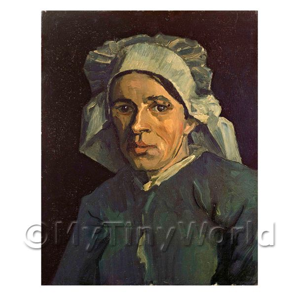 Van Gogh Painting Head of a Woman No 2