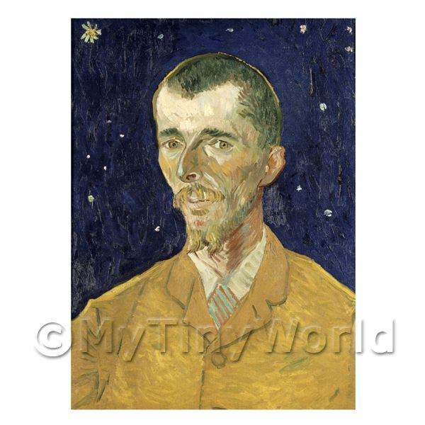 Van Gogh Painting Portrait of Eugene Boch