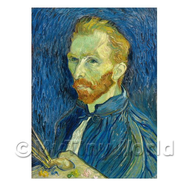 Van Gogh Painting Self Portrait Number One