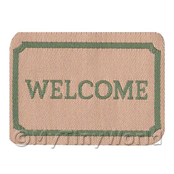 Dolls House Miniature  | Dolls House Classic Welcome Mat (WM4)