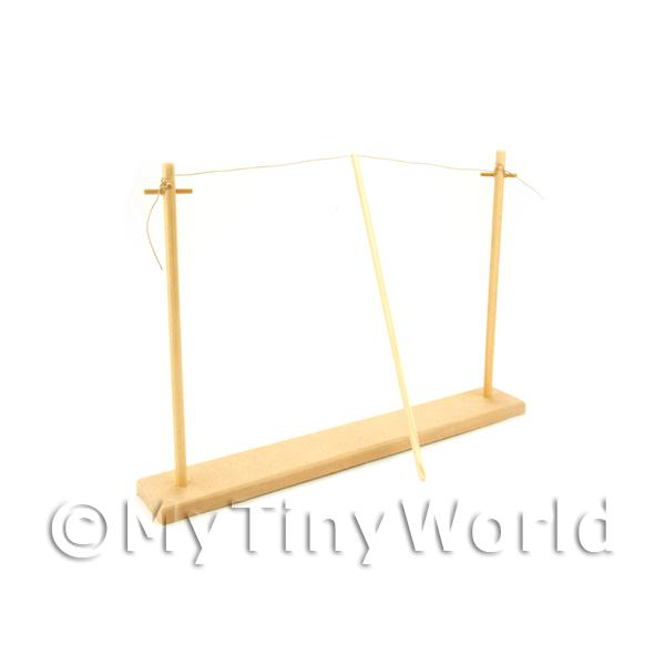 Dolls House Miniature  | Dolls House Miniature Washing Line And Posts
