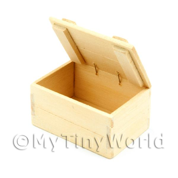 Dolls House Miniature  | Dolls House Miniature Plain Wood Shop Display Box