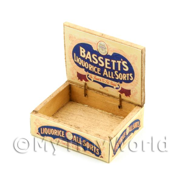 Dolls House Miniature  | Dolls House Bassetts All-Sorts Counter Display Box
