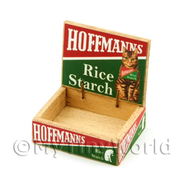Dolls House Miniature  | Dolls House Hoffmans Rice Starch Counter Display Box