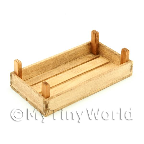 Dolls House Miniature  | Dolls House Miniature Large Aged Wood Vegetable Crate