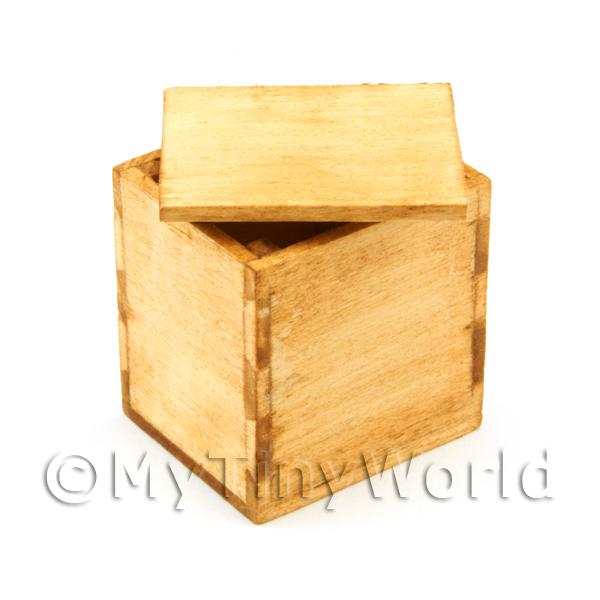 Dolls House Miniature  | Dolls House Miniature Small Aged Wood Packing Case