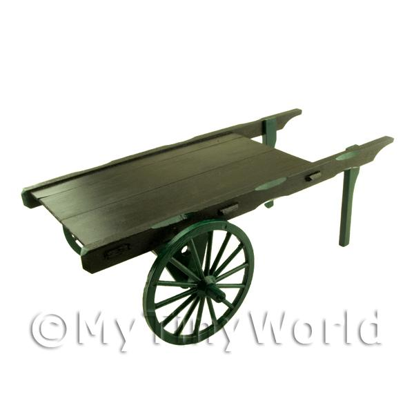 Dolls House Miniature  | Dolls House Miniature Handmade Painted Market Cart