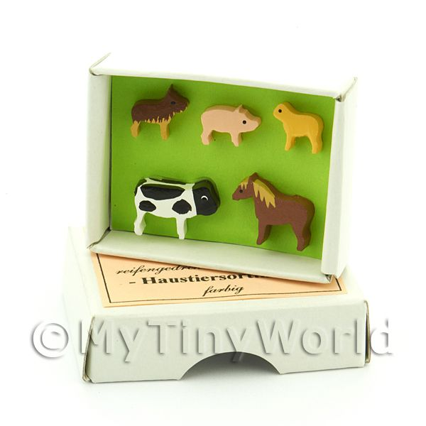 Dolls House Miniature Domestic Animal Wall Chart