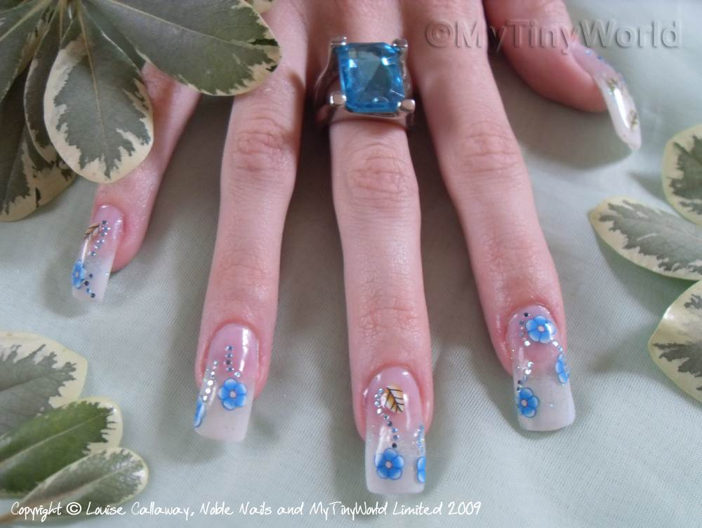 Nail Art Picture - Flowers